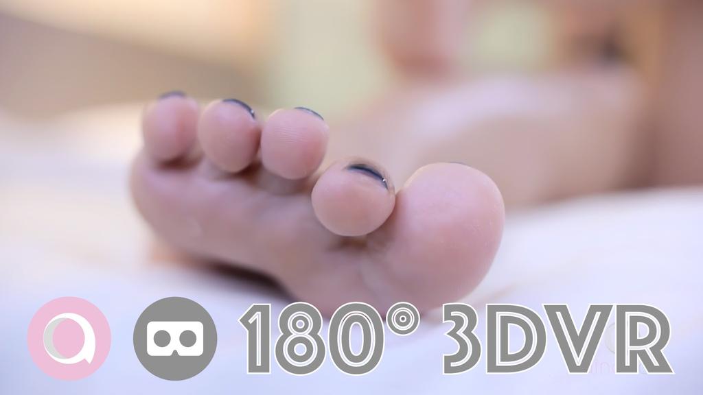 [VR] 可愛い子がVRの中で足を君に舐められたい #1