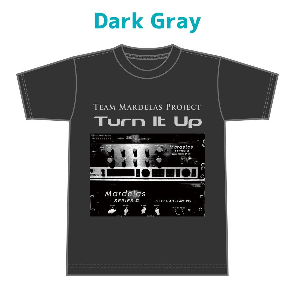 Turn It Up! T-Shirt (Dark Gray)