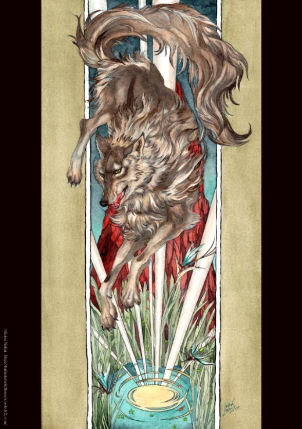 B4ポスター オオカミ