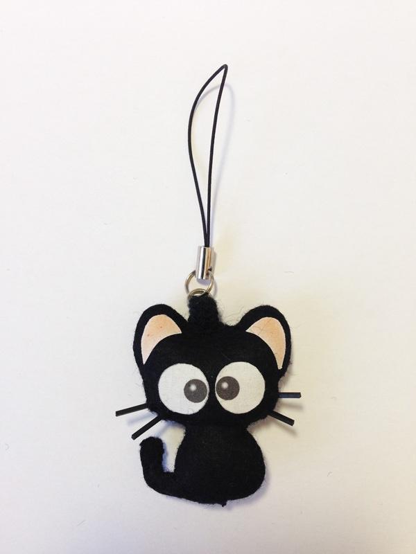 黒猫りっちー君マスコット