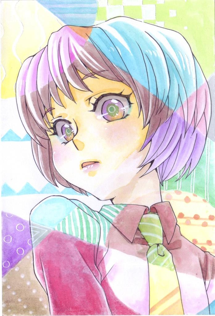手描きイラストポストカード *002