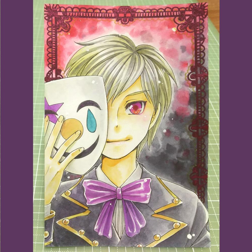 手描きイラストポストカード *009