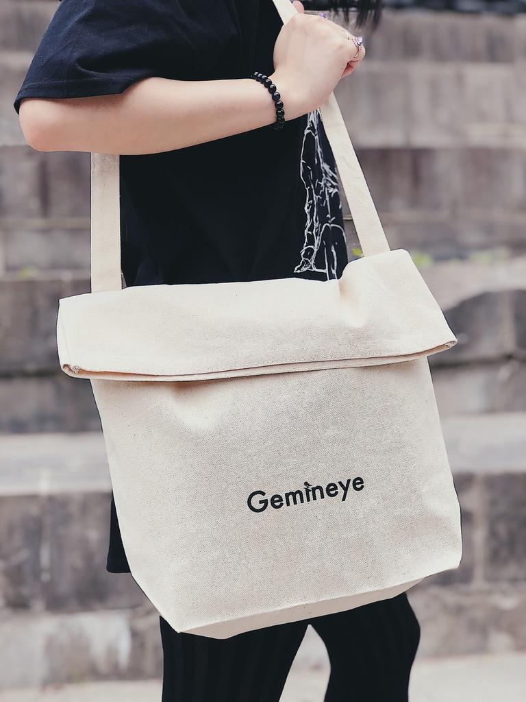 【受注生産受付中(9/27まで)】Gemineye 口折れショルダーバッグ