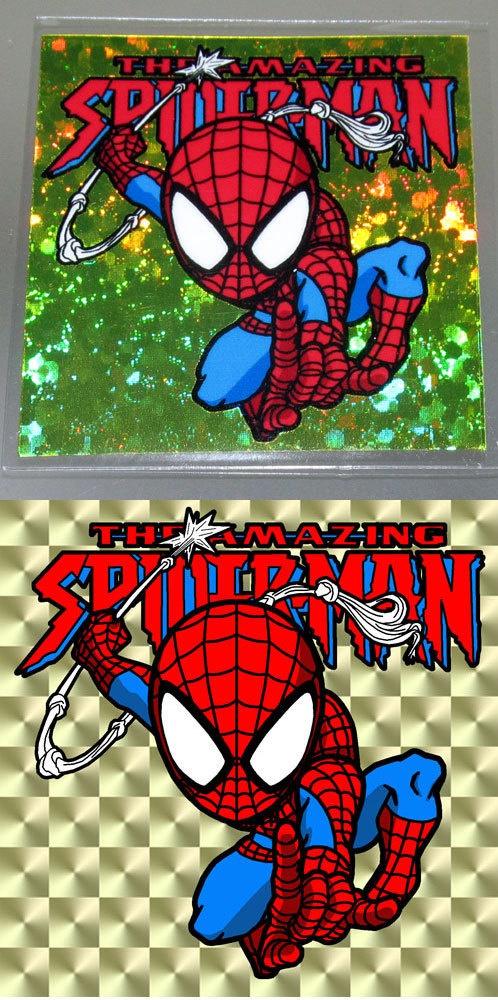 アメコミシール スパイダーマン、デッドプール 送料込み