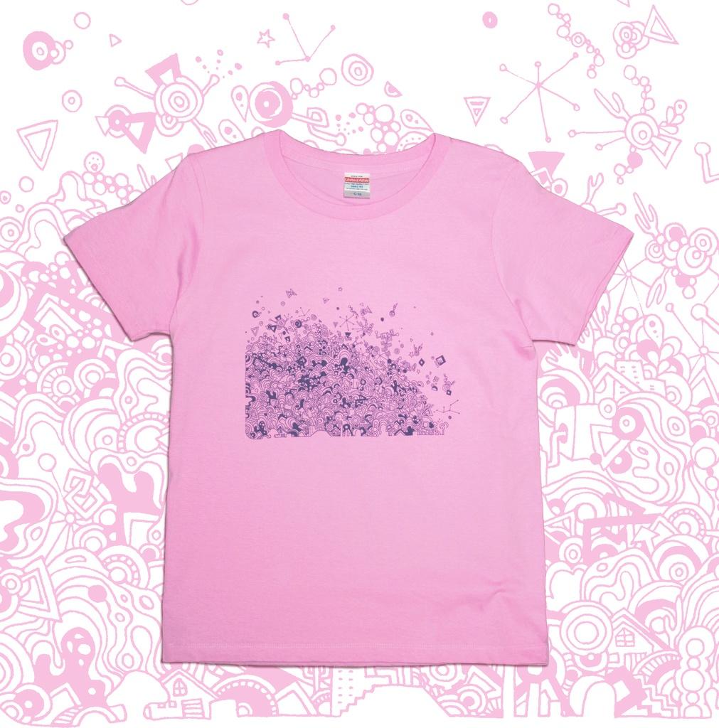 【送料無料】メンズ・レディースサイズ有★マーブル Tシャツ