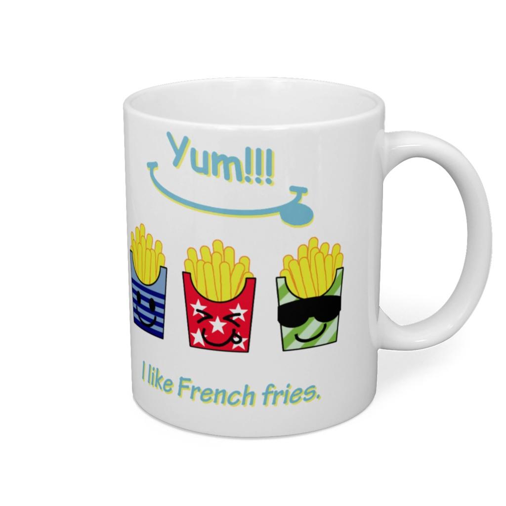Three Fench fries
