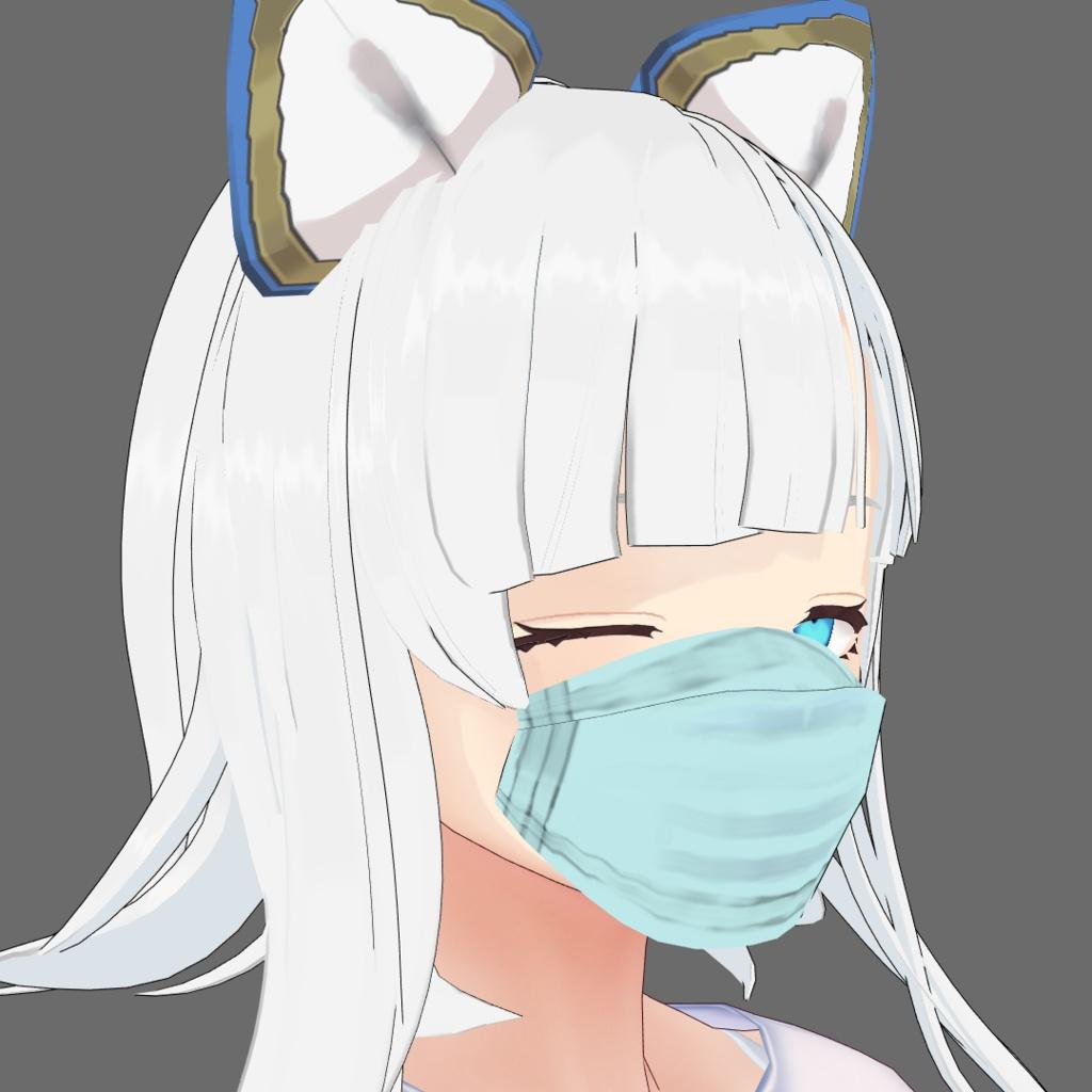【FREE】マスク模様テクスチャ