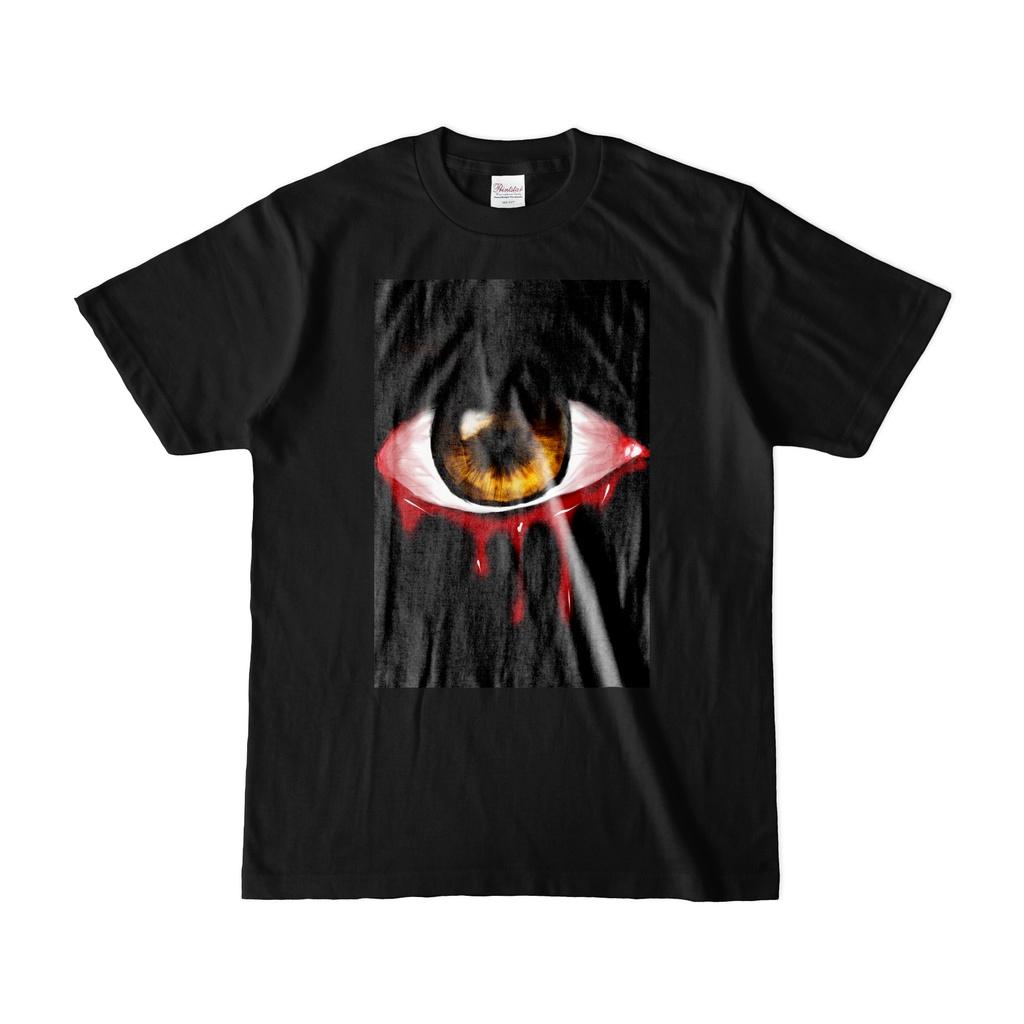 ガン見Tシャツ(黒)1