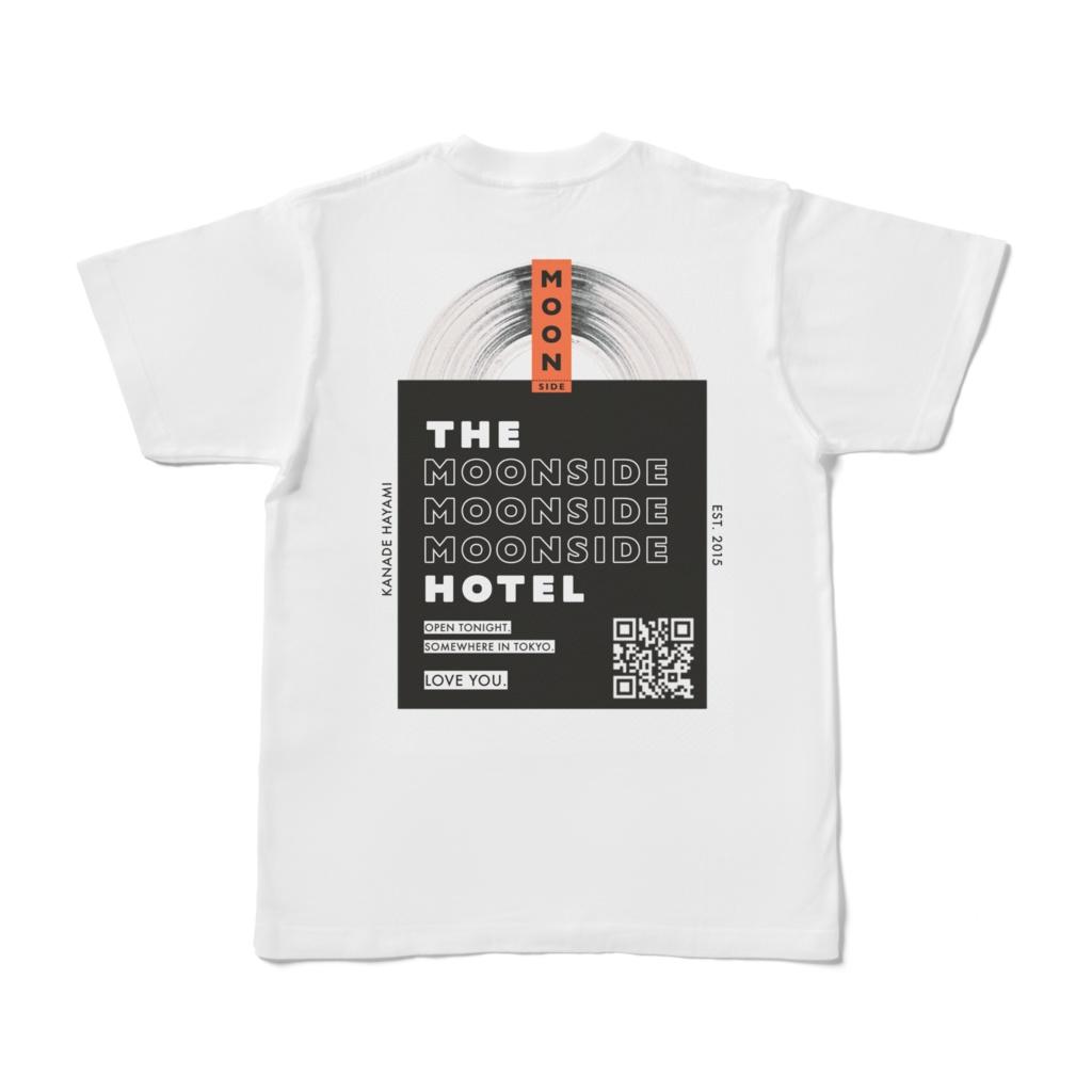 THE MOONSIDE MOONSIDE MOONSIDE HOTEL T-SHIRT(WHITE)