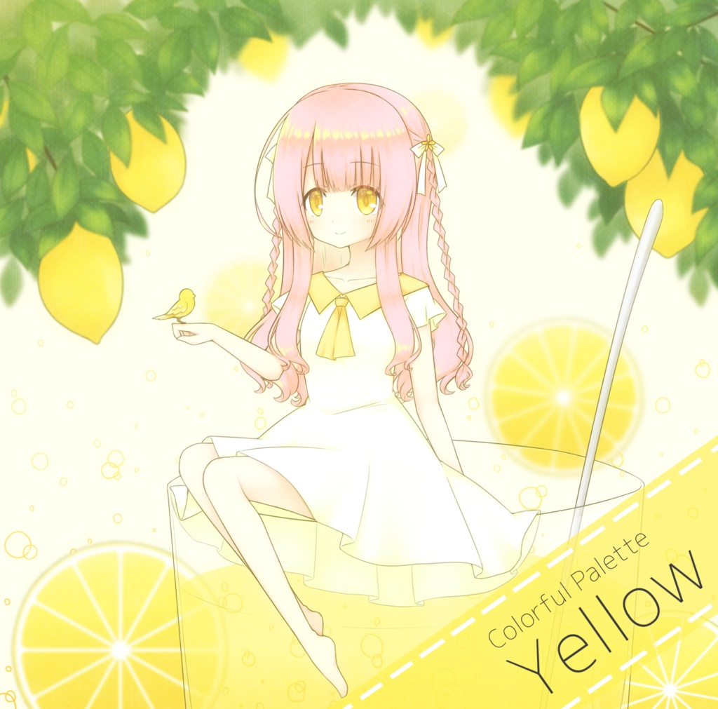 Colorful-Palette : Yellow