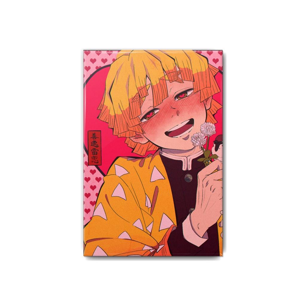 善逸くんの恋缶バッジ , ABINO , BOOTH
