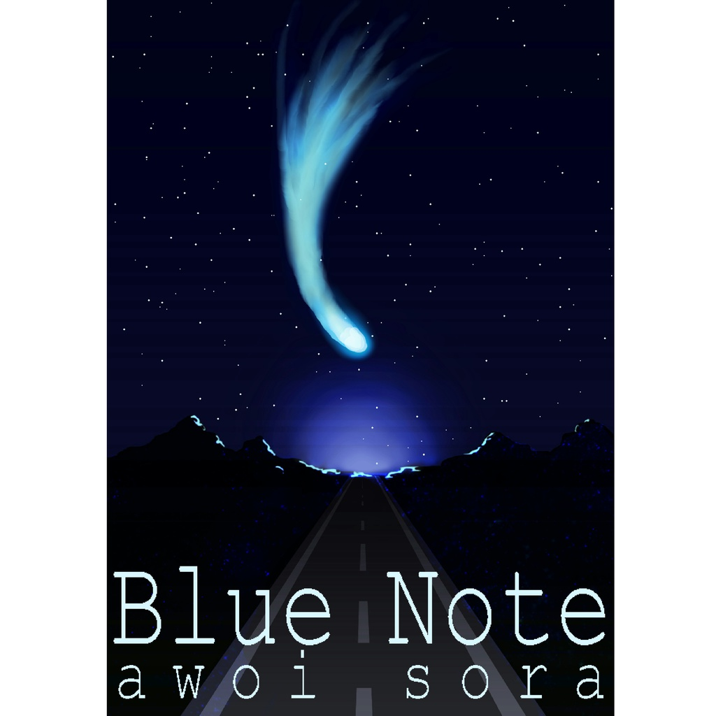 イラスト集『Blue Note』