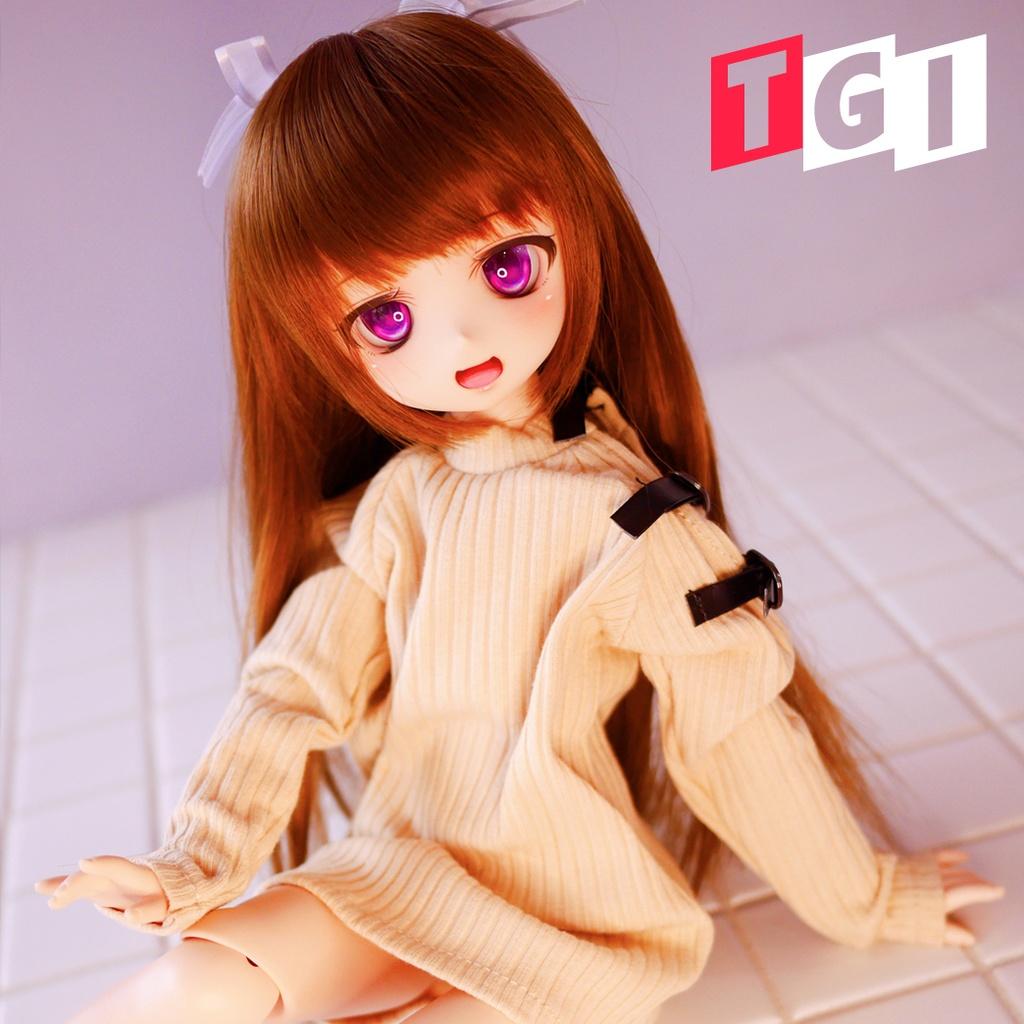 籠鶇TGI ★《Snowline》DD / DY / MDD size セーター(ベージュ/灰/白)