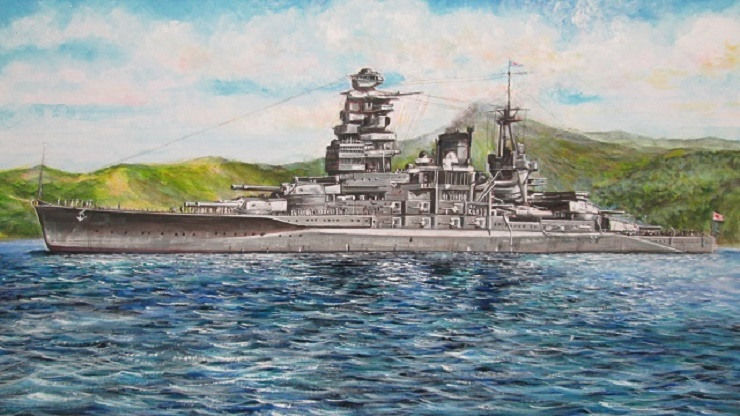 長門型1番艦 「長門」