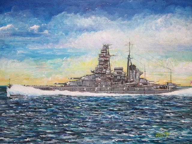 金剛型戦艦3番艦「榛名」