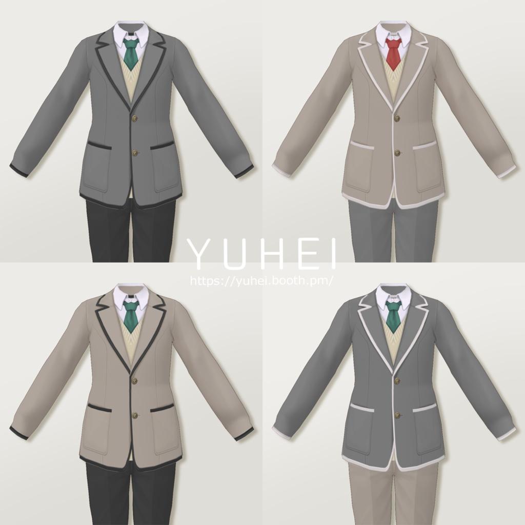 Vroid ブレザー制服セット 女子用 男子用 Yuhei Booth