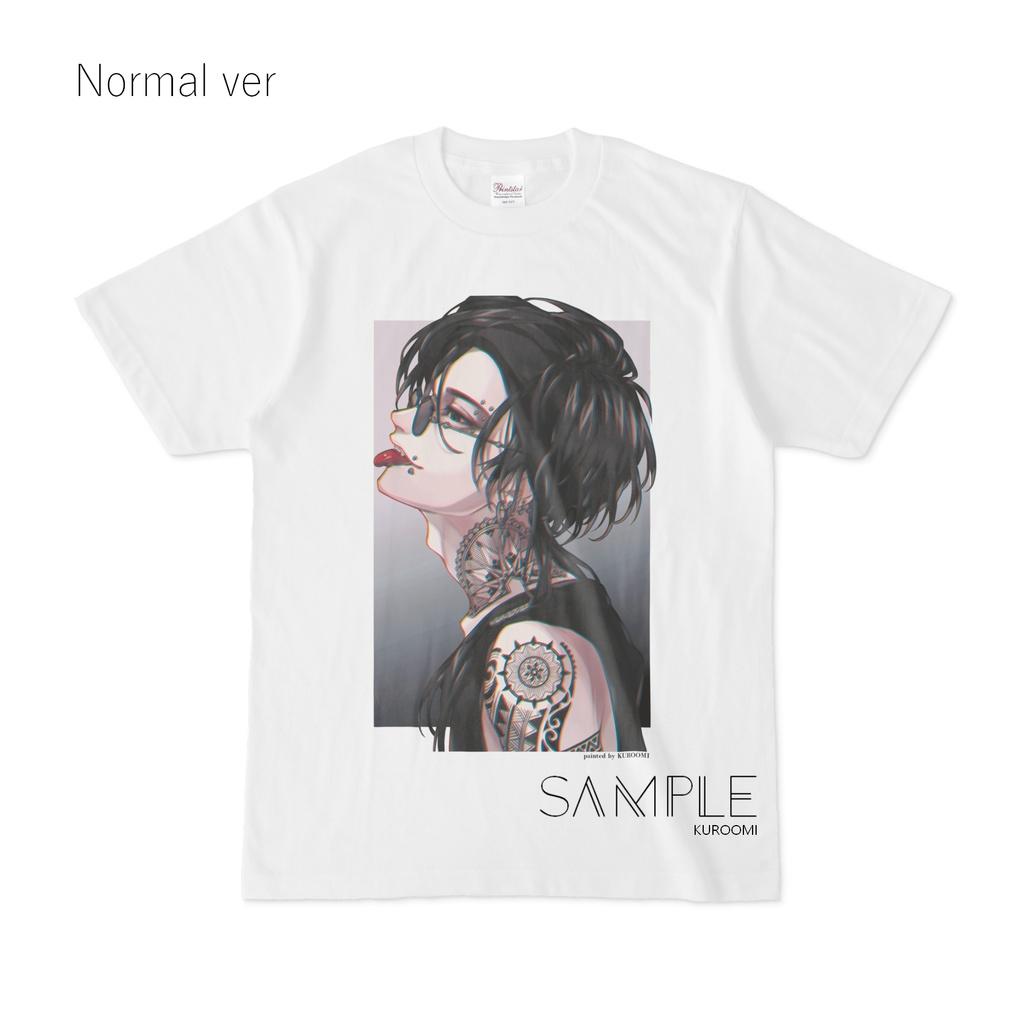 Tシャツ(S~XL) - 蓮 -