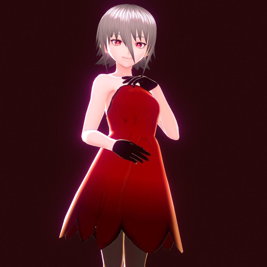 【Vroid用テクスチャ】Reddress