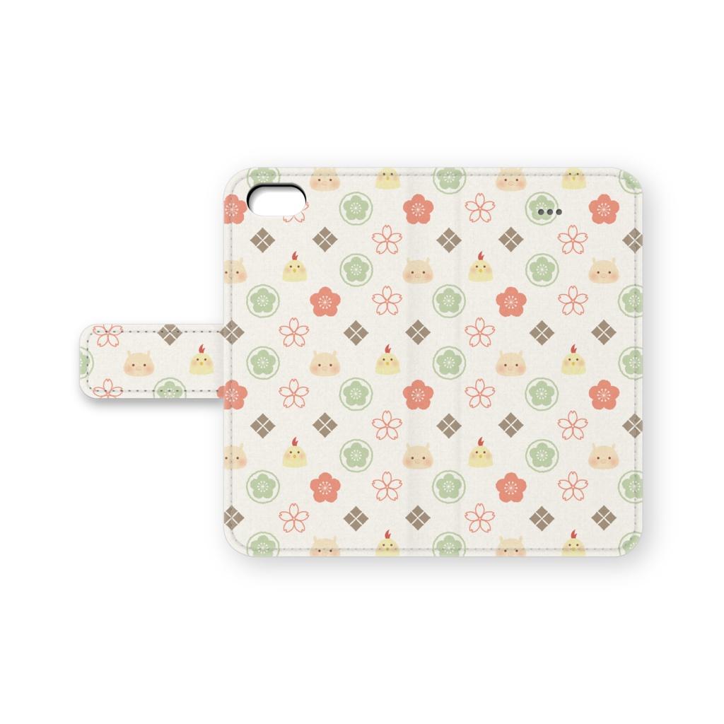 ぶーちき「梅と桜」 ホワイト