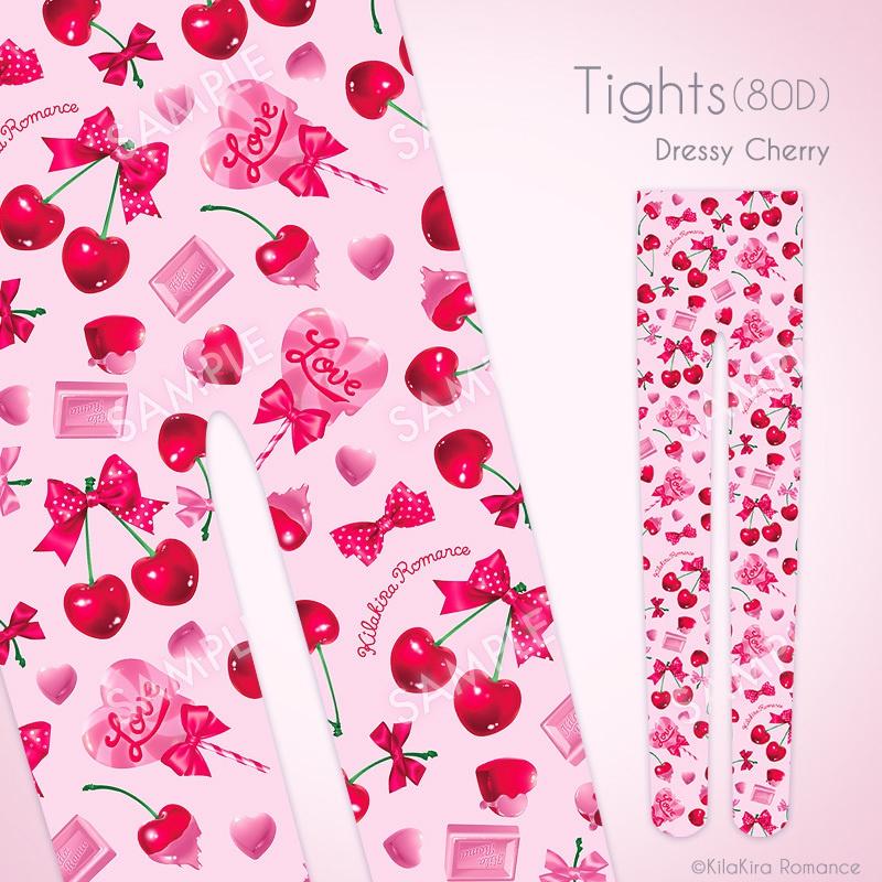 タイツ(80D)[Dressy Cherry]