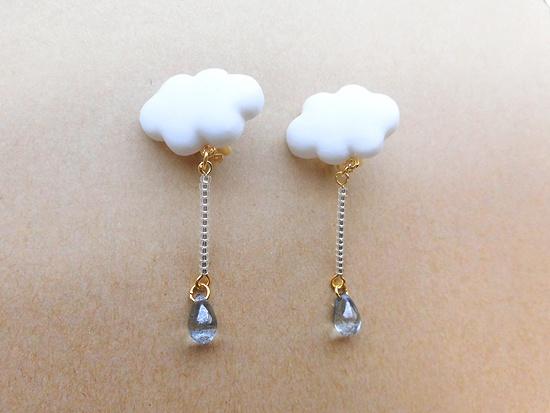 雨雲イヤリング