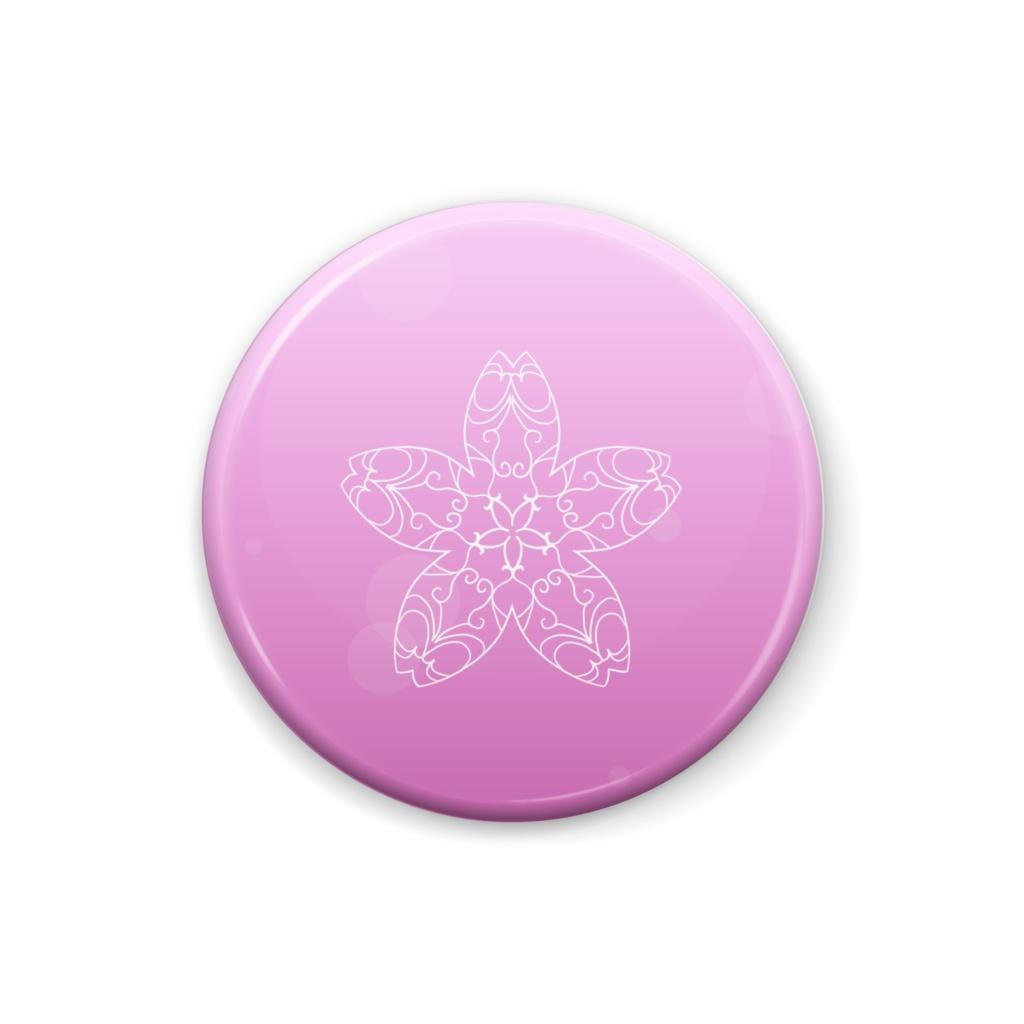 缶バッジ 桜の花ー単体 A