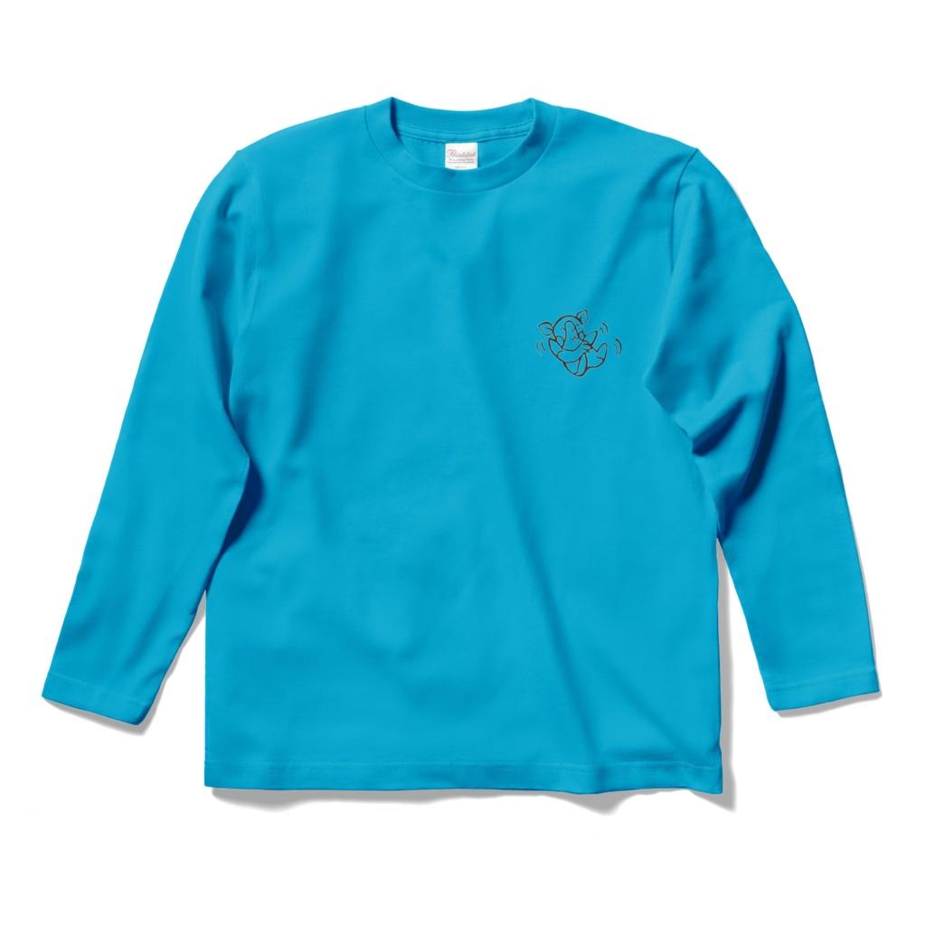 【長袖】バタバタちびもちゃんTシャツ