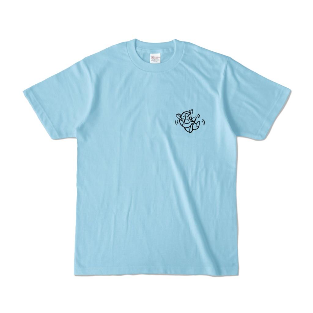 【半袖】バタバタちびもちゃんTシャツ