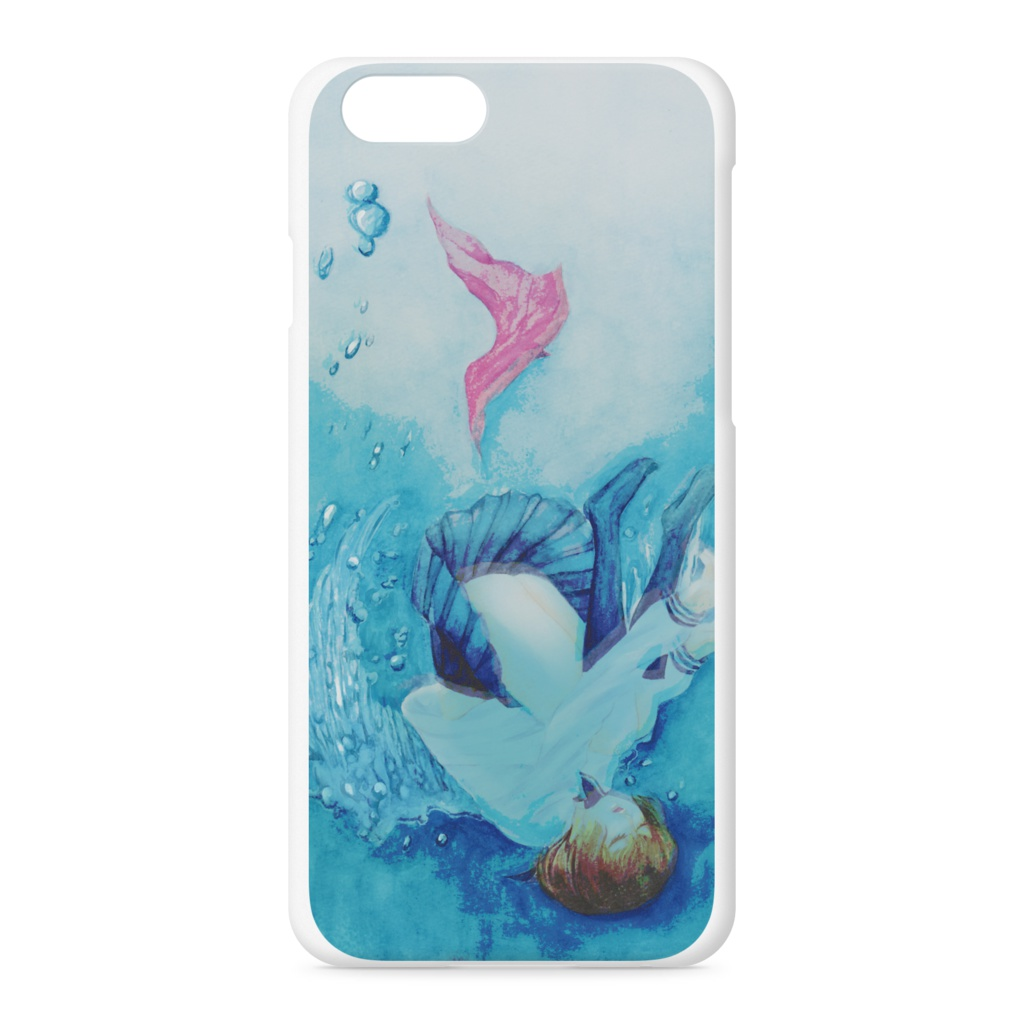 入水天使iPhoneケース
