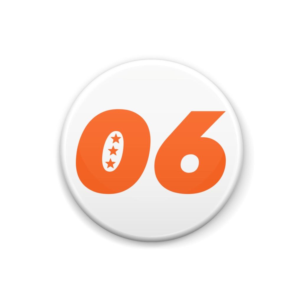 06オレンジ缶バッジ
