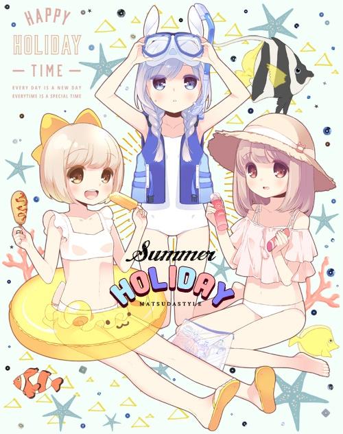 同人誌「SummerHOLIDAY」