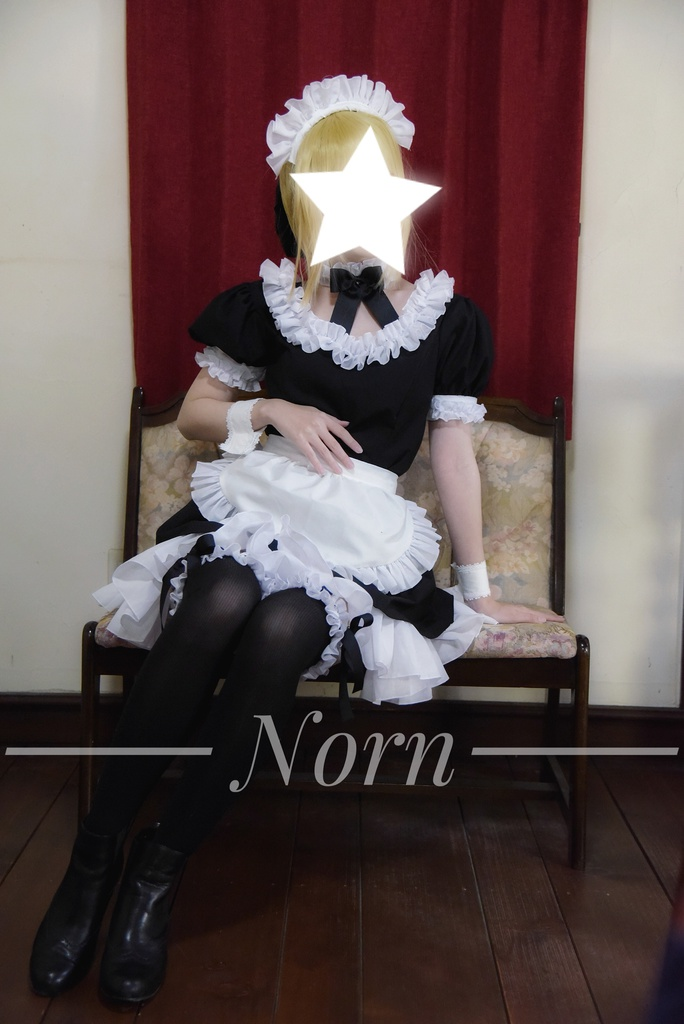 Fate (カーニバル・ファンタズム)*セイバーオルタ*メイド服衣装