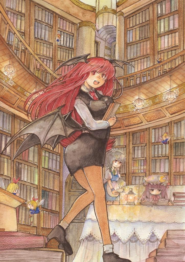 紅魔郷 ヴワル魔法図書館へようこそ 原画 0077 Booth
