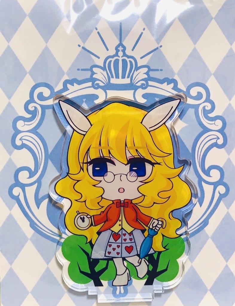 【アクリルスタンド】白ウサギ