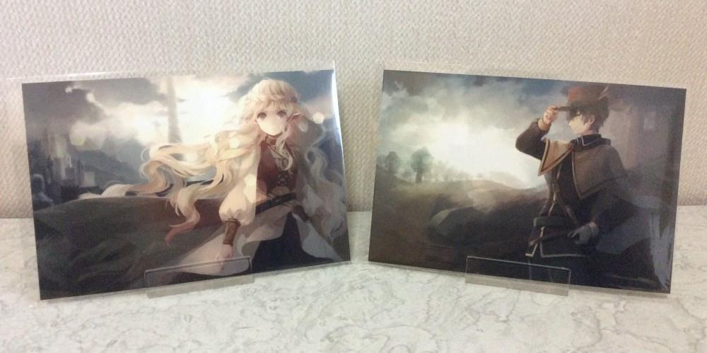オリジナルポストカード【ファンタジーイラスト】