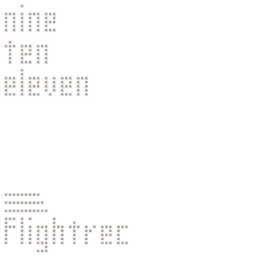 Flightrec / nine ten eleven