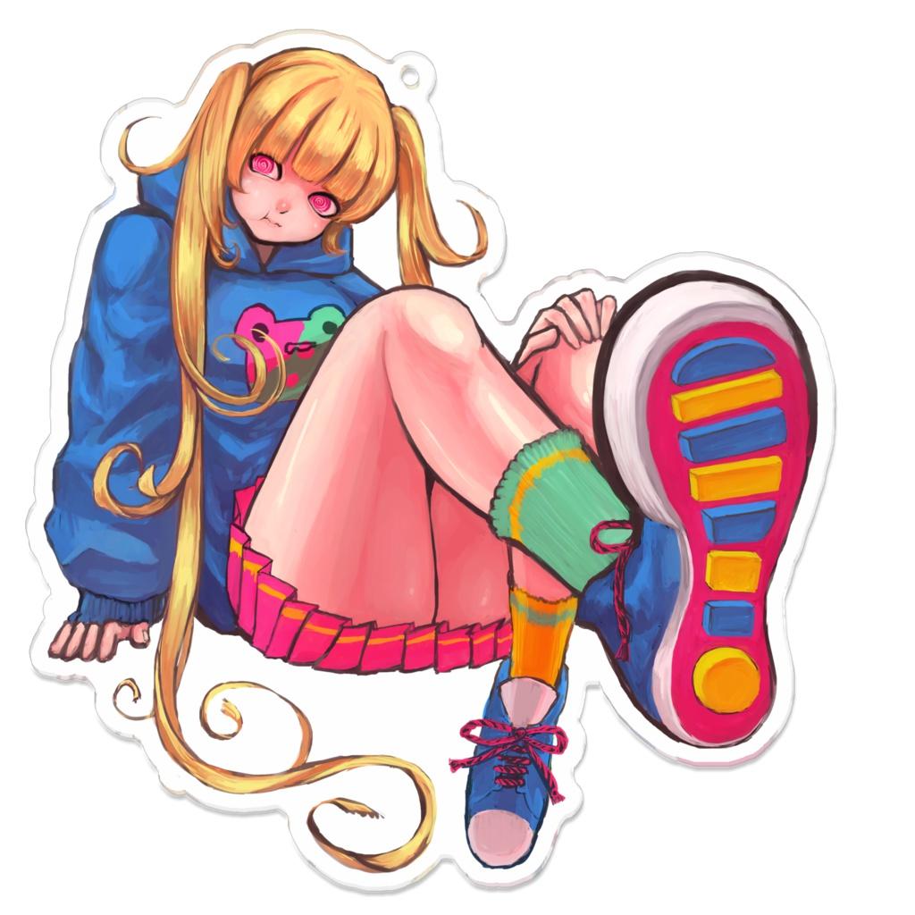 [オリジナルアクキー] POP GIRL