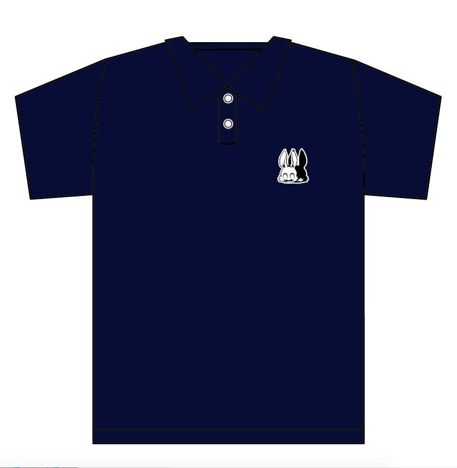 刺繍ワンポイント ポロシャツ『9』ネイビー『7月31日まで受付』