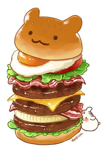 ハンバーガーポストカードセット