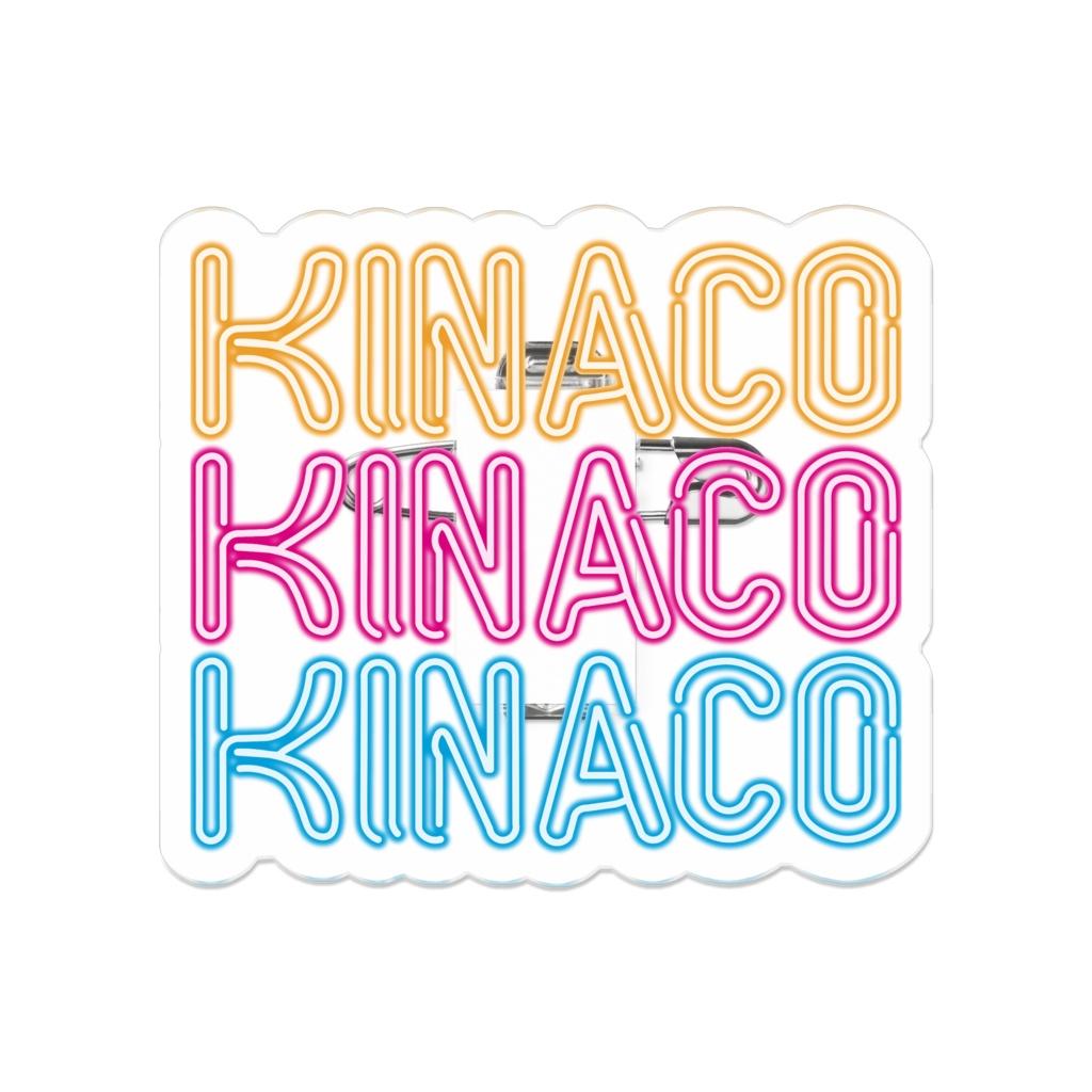 KINACOネオンサインアクリルバッジ