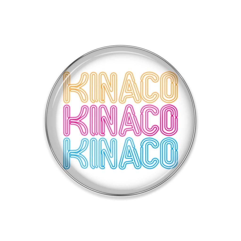 KINACOネオンサインピンバッジ