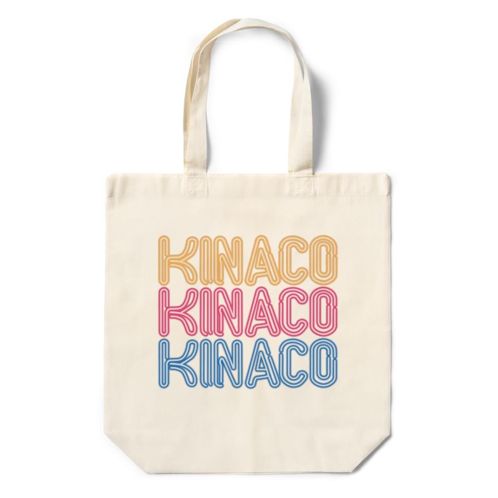 KINACOネオンサインエコバッグ