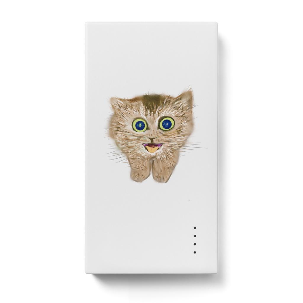 子猫のモバイルバッテリー