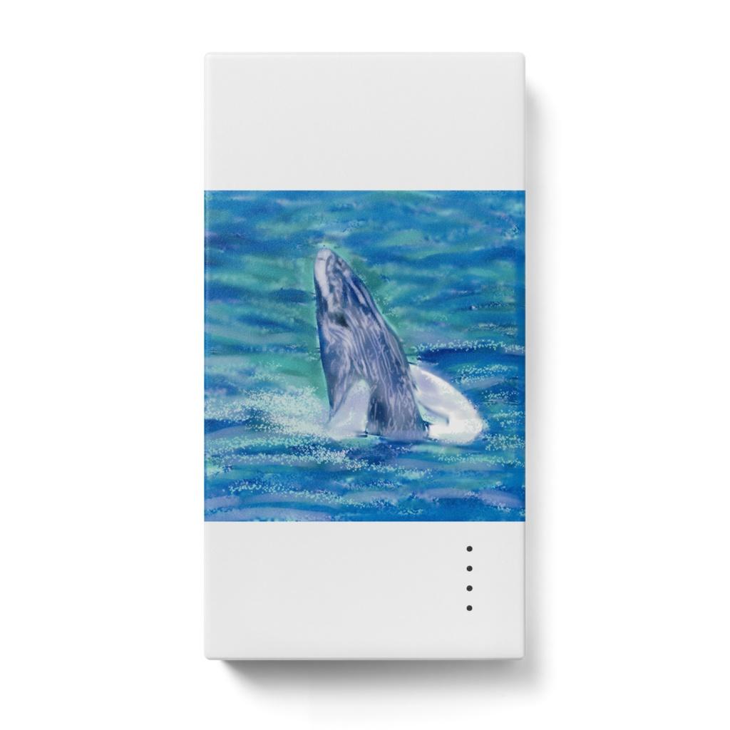 クジラのモバイルバッテリー