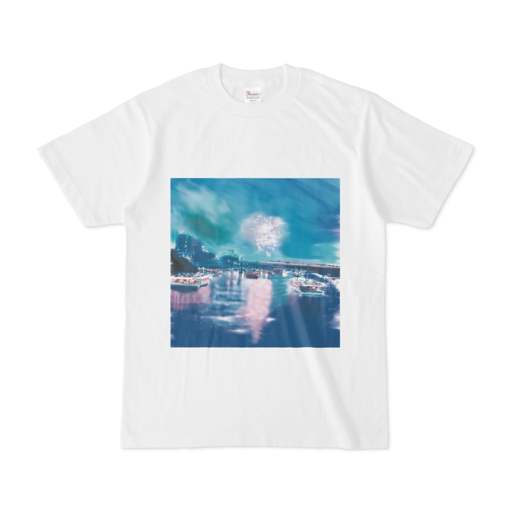隅田川花火のtシャツ