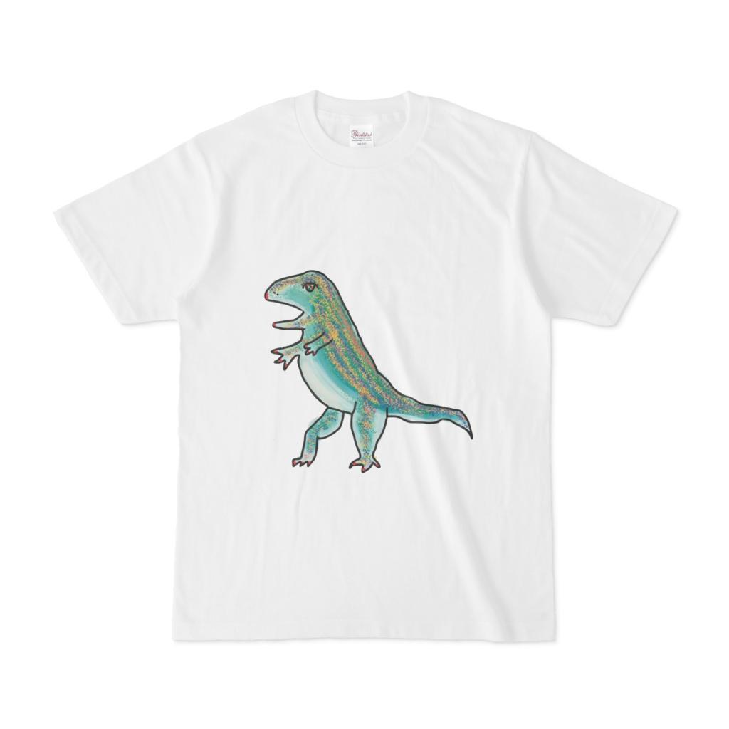 ティラノサウルスのtシャツ