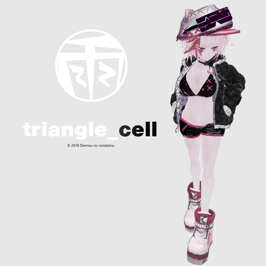 3Dモデル - Parker - triangle_Cell -
