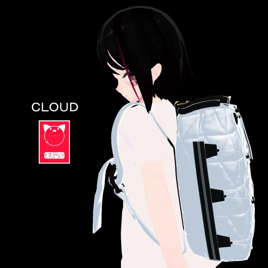 3Dモデル - cloud rucksack -