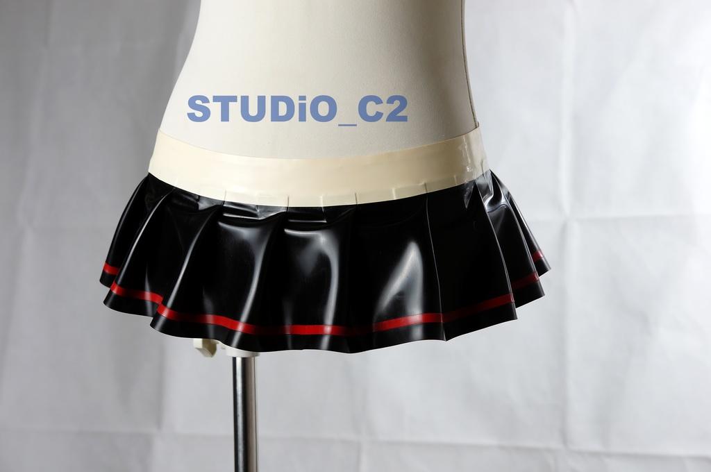 試作 ラバー対魔忍 時雨用スカート
