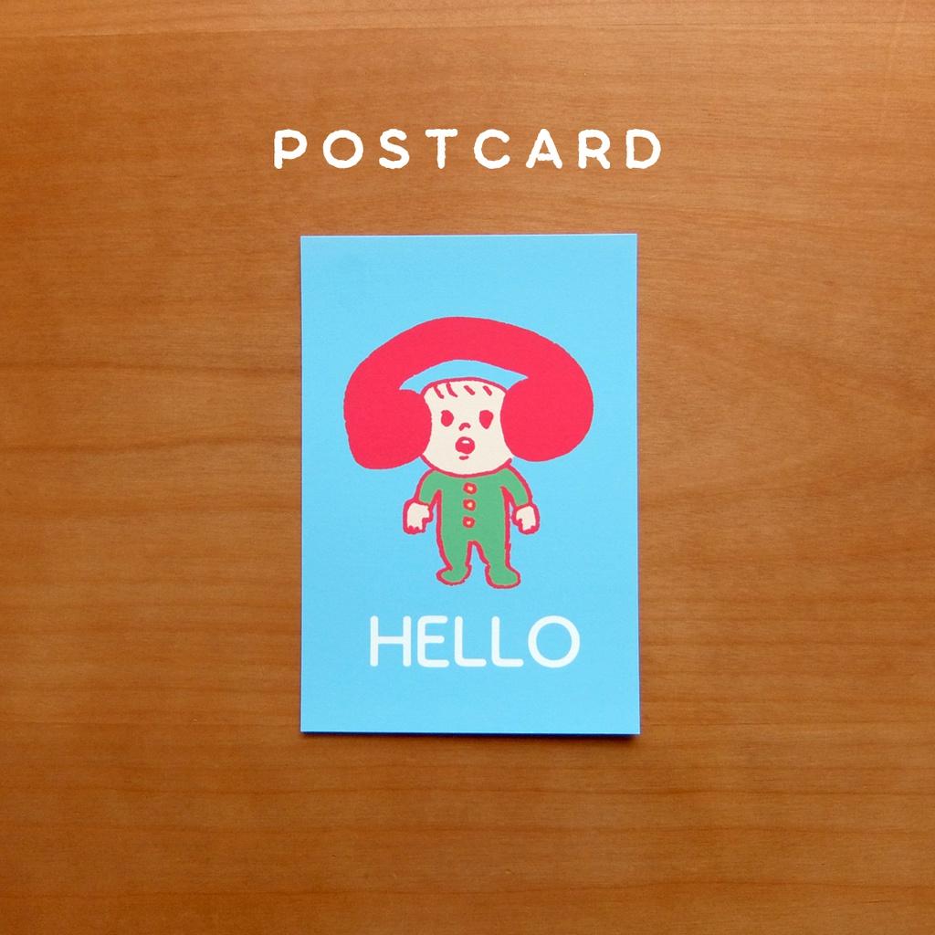 【ポストカード】HELLO